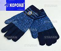 Детские шерстяные перчатки с начёсом Korona E5369-6