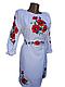 """Жіноче вишите плаття """"Максін"""" (Женское вышитое платье """"Максин"""") PN-0018, фото 2"""