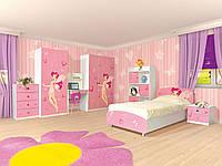 Комплект детской мебели Мульти Фея, комплекты мебели для детской комнаты