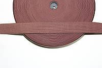 Резинка декоративная 30мм, коричневый , фото 1