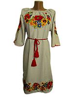 """Жіноче вишите плаття """"Морайн"""" (Женское вышитое платье """"Морайн"""") PN-0020"""
