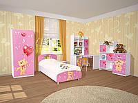 Комплект детской мебели Мульти Мишки, детская модульная мебель