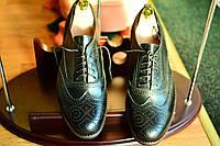 Мужские  туфли кожаные броги  Florentino, made in Italy, (новые).