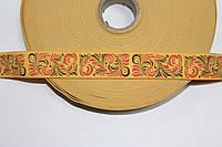 Резинка декоративная 30мм, желтый, фото 1