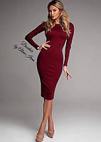 Классическое миди платье, в наличии много цветов, смотрите на сайте!