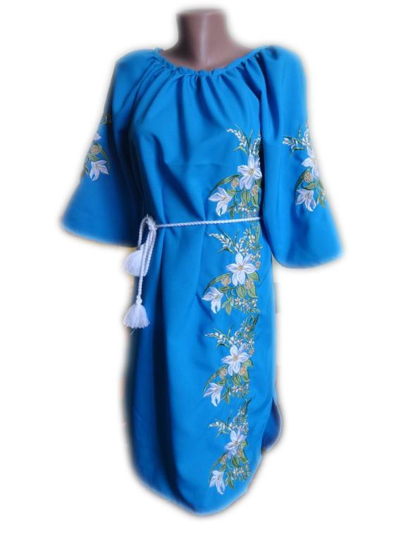 """Женское вышитое платье """"Мейбер"""" PN-0028"""