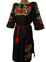 """Жіноче вишите плаття """"Кіана"""" (Женское вышитое платье """"Киана"""") PN-0029"""