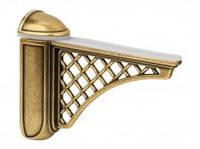 """Крепление для стеклянной полки Bosetti Marella Coloniale 42431Z12500.07 валентное золото """"КР"""""""