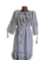"""Жіноче вишите плаття """"Лейс"""" (Женское вышитое платье """"Лейс"""") PN-0030"""