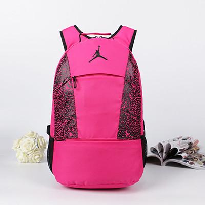 Рюкзак Jordan розовый (реплика)