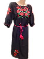 """Жіноче вишите плаття """"Марго"""" (Женское вышитое платье """"Марго"""") PN-0033"""