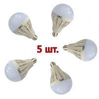 5шт Светодиодная LED лампочка UKC Light E27 18W