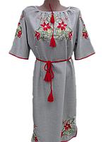 """Жіноче вишите плаття """"Мавріна"""" (Женское вышитое платье """"Маврина"""") PN-0026"""