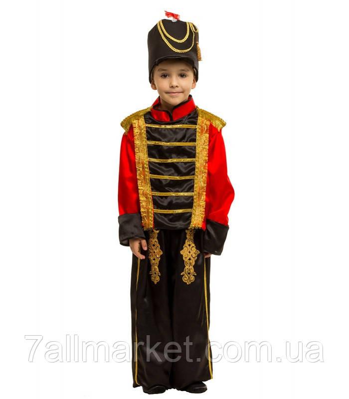 "Костюм Гусара Щелкунчика Оловянного солдатика на мальчика 4-9 лет ""KARNAVAL"""