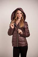 Теплая короткая куртка зимняя Naomi  42–56р. в расцветках