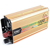 Преобразователь авто инвертор UKC 24V-220V 1000W
