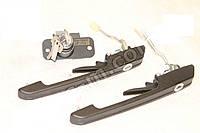 Ручка двери ВАЗ 2108 наружый передний ручки и замок багажника (комплект 2 шт) (производство ДААЗ Россия)