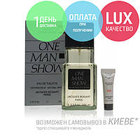Bogart One Man Show. Eau De Toilette 100 ml / Мен Шоу + крем после бритья 100 мл ОРИГИГАЛ
