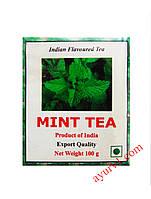 Чай черный индийский   мятный / Mint Tea/ 100 гр.