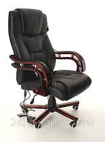 Офисное массажное кресло PRESIDENT черное, фото 3