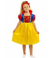 Карнавальный костюм Белоснежки детский