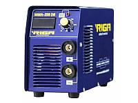 Сварочный инвертор RIGA MMA-250 DB (дисплей + кейс)