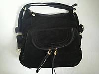 Замшевая сумка-рюкзак 0675