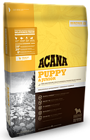Acana Puppy & Junior 11,4кг - корм для щенков всех пород (70% мясных ингридиентов)
