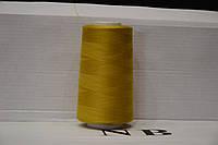 "Нитка швейная 40/2(4000 ярд)""LG""№D539 Горчица желт."