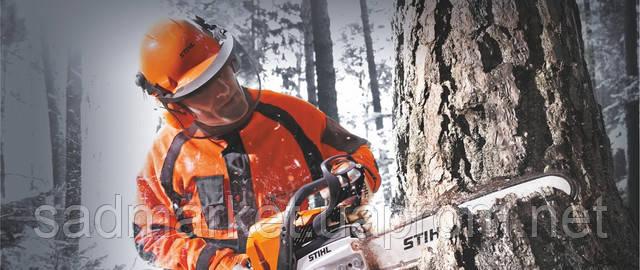 Как повалить дерево
