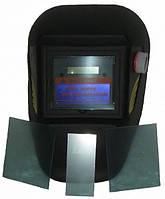 Сварочная маска хамелеон Герой 350D + 3 запасных стекла