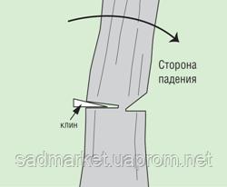 Спилить дерево