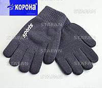 Детские шерстяные перчатки с начёсом Korona E5076-3-R