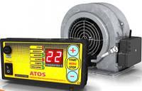 Комплект автоматики Atos и вентилятора WPA X2 для управления твердотопливным котлом.