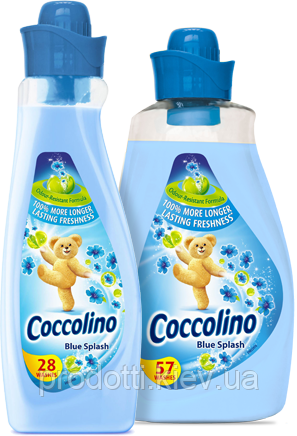 Кондиционер - смягчитель для белья Coccolino Blue Splash 1л