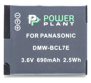 Аккумулятор PowerPlant Panasonic DMW-BCL7E 690mAh