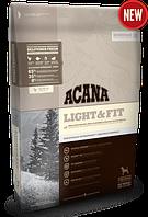 Acana Light & Fit 2кг  - облегченный корм для взрослых собак с лишним весом