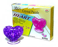 """Пазлы 3D кристальные """"Сердце"""""""