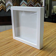 Рамка для 3D 20х30 см белая