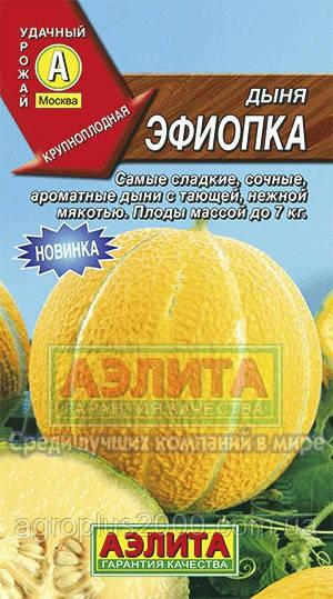 Семена Дыня Эфиопка 1 грамм Аэлита