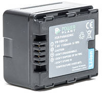 Аккумулятор PowerPlant Panasonic VW-VBN130 1100mAh