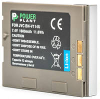 Аккумулятор PowerPlant JVC BN-V114U 1600mAh