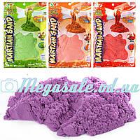 Кинетический песок для творчества Martian Sand с блестками: 4 цвета,1000 грамм