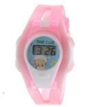 Детские электронные наручные часы Baby Joy Rose