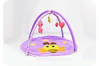 Коврик для младенца «Пчелка» (дуги, игрушки, подвески)