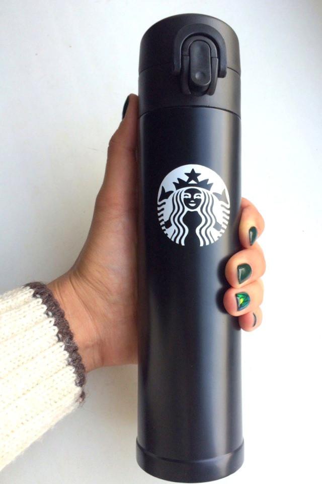 Термос Starbucks Черный 300 мл.  - Интернет-магазин подарков и товаров для дома Megusta в Киеве