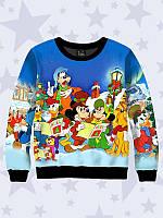 Світшот Різдвяні  герої дитячі