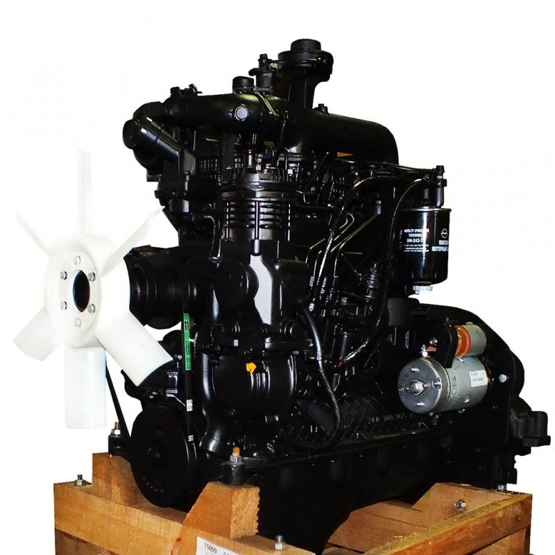 Двигатель Д245.12с-231М (108,8 л.с) (ЗИЛ-130) (полнокомп) (пр-во ММЗ)
