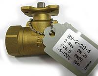 Регулирующие 2-х ходовые шаровые клапаны Lufberg серии BV-2