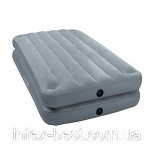 Intex 67743 надувная кровать Aeroluxe Airbed 99x191x46см, фото 2